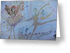 The Fairy Tale Ballet Greeting Card