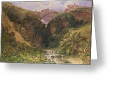 The Falls Of Tivoli Greeting Card