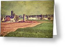 The Farm In Lancaster Greeting Card