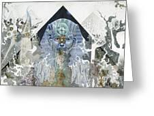 The Faroah Of Funkadelphia Greeting Card by Douglas Fromm