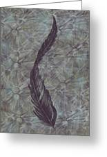 The Feather Greeting Card
