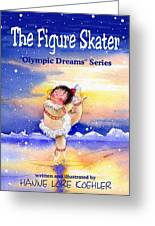 The Figure Skater - Cover Greeting Card