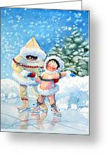 The Figure Skater 3 Greeting Card