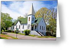 The First Christian Church Of Harriman 2 Greeting Card