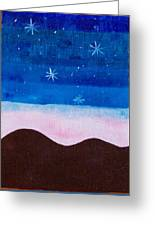The First Stars In The Evening Greeting Card