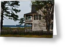 The Fishermans House Greeting Card