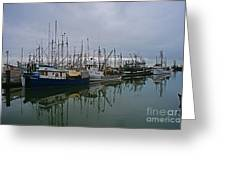 The Fishing Fleet Greeting Card