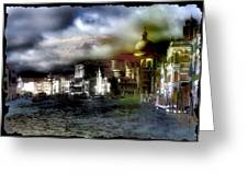 The Flow Of Waters  Il Flusso Delle Acque Greeting Card