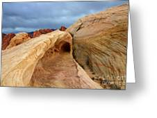 The Folded Landscape Greeting Card
