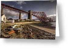 The Forth Rail Bridge Greeting Card