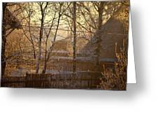 The Frosty Morning Greeting Card