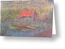 The Garden Barn At Callaway Gardens Greeting Card