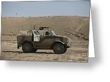 The German Army Atf Dingo Armored Greeting Card