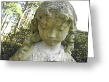 The Girl In My Backyard Greeting Card