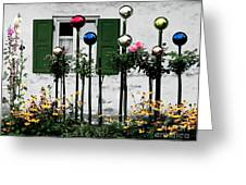 The Glass Balls Greeting Card