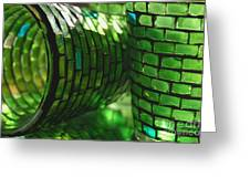 The Glass Is Always Greener... Greeting Card
