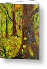 The Golden Forest Greeting Card