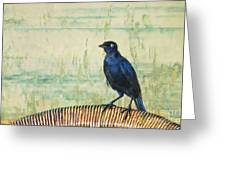 The Grackle Greeting Card