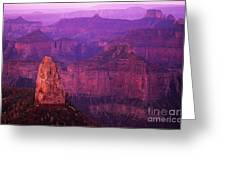 The Grand Canyon North Rim Greeting Card