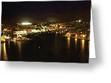 The Grand Harbour Of Malta Greeting Card