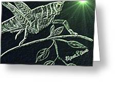 The Grasshopper Greeting Card