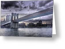 The Great Bridge Greeting Card