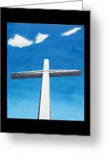 The Great Cross - Risen Greeting Card