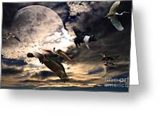 The Great Migration . Full Color Greeting Card