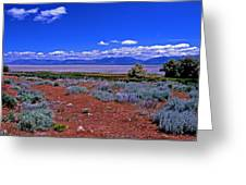The Great Salt Lake From Antelope Island Greeting Card