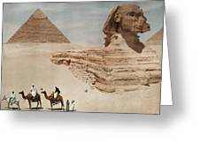 The Great Sphinx And The Second, Or Greeting Card