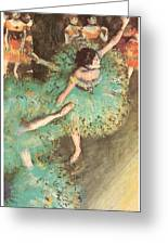 The Green Dancer Greeting Card