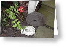 The Grinding Stone Greeting Card