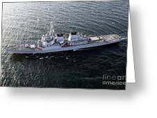 The Guided-missile Destroyer Uss Laboon Greeting Card