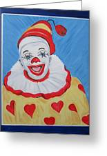 The Happy Clown Greeting Card