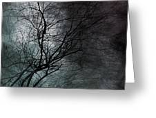 The Haze Of The Moon Greeting Card