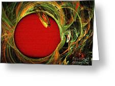The Heart Of A Snake Greeting Card