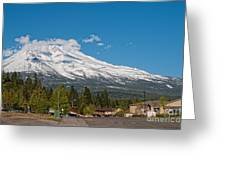 The Heart Of Mount Shasta Greeting Card