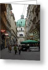 The Heart Of Vienna Greeting Card