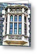 The Heritage Windows Of The Teachers' College Greeting Card