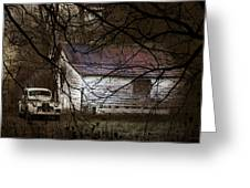 The Hideout Greeting Card by Ron Jones