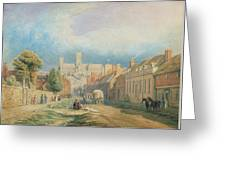 The High Street Lincoln  Greeting Card