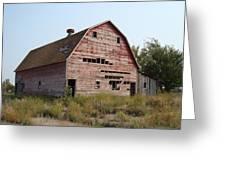 The Hole Barn Greeting Card