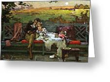 The Honeymoon Greeting Card