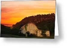 The Horse Barn Greeting Card