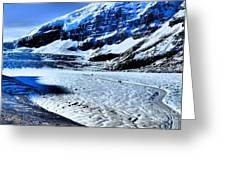 The Ice Fields Greeting Card