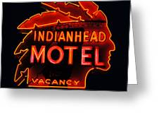 The Indianhead Greeting Card