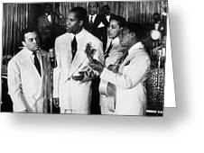 The Ink Spots, C1945 Greeting Card