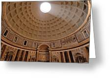 The Inside Of The Pantheon Greeting Card