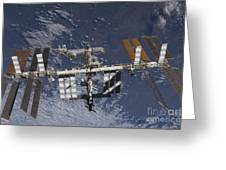 The International Space Station Greeting Card