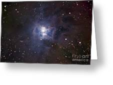 The Iris Nebula Greeting Card